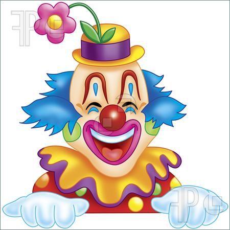 vector transparent stock Clip art illustration of. Happy clown clipart