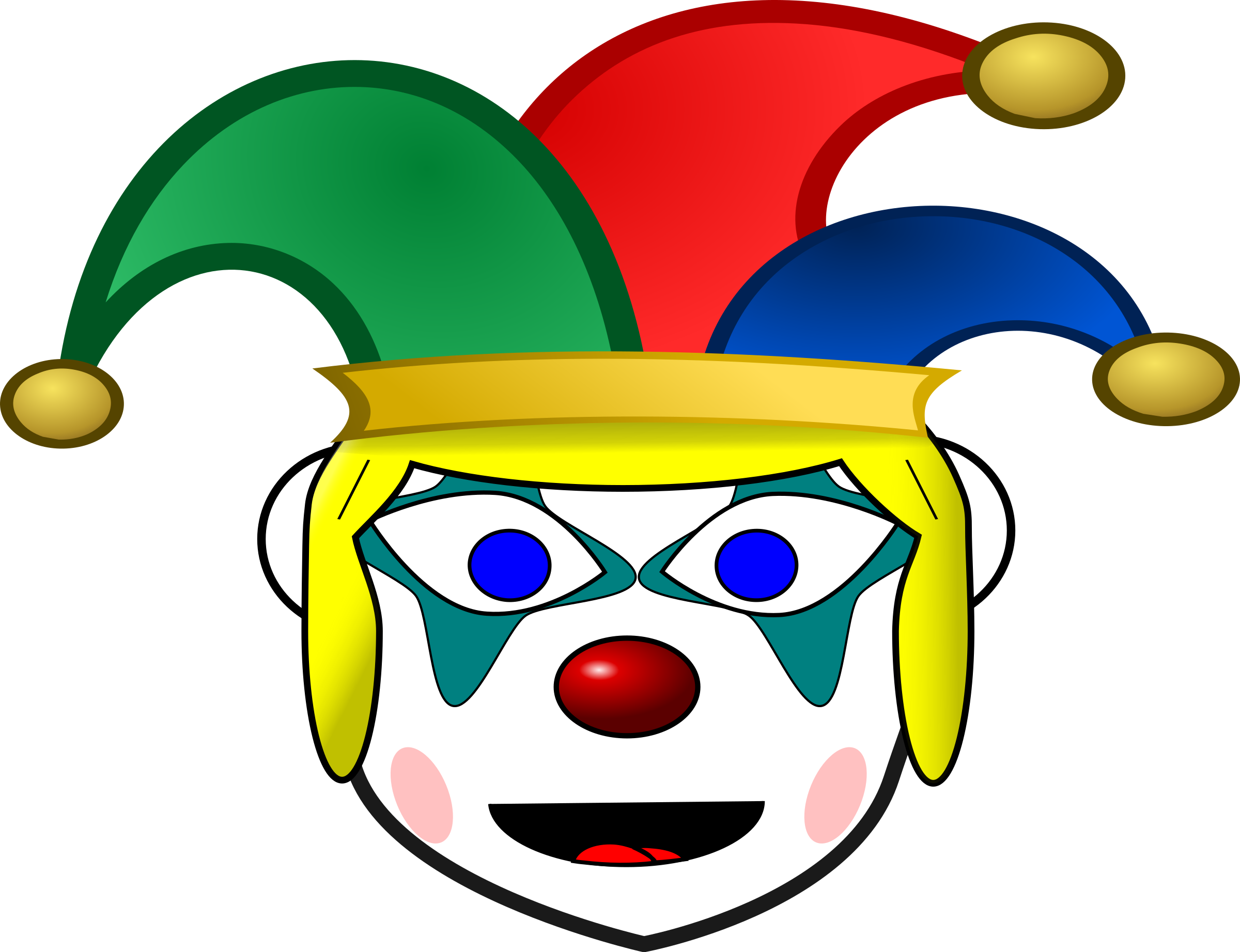 image freeuse download Happy clown clipart. Girl icons png free