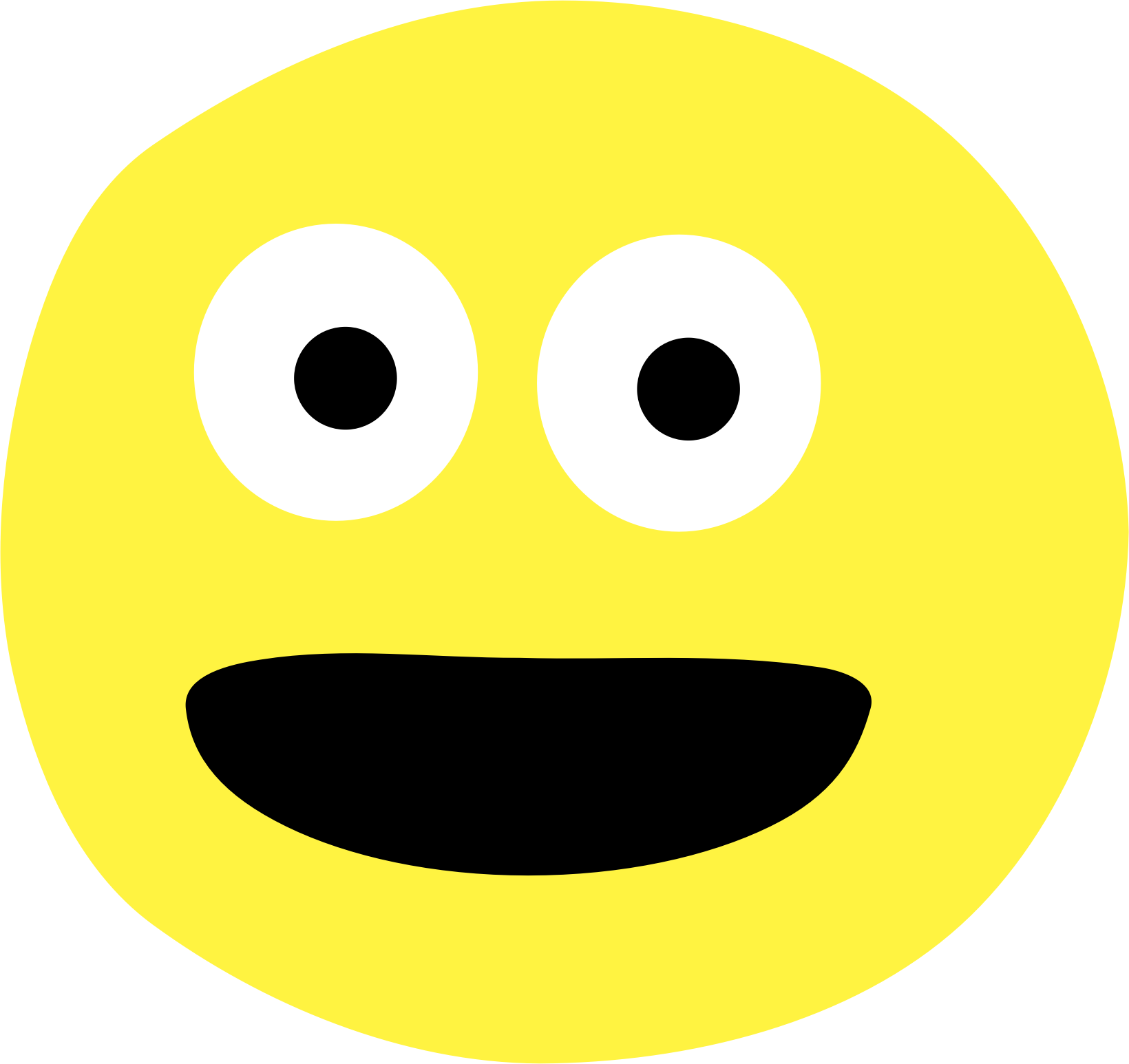 png freeuse stock Happy emoji clipart. Smiley big image png