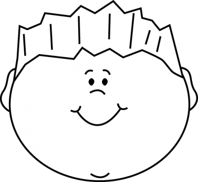 graphic black and white download Happy face clipart black and white. Smiley page clipartaz free