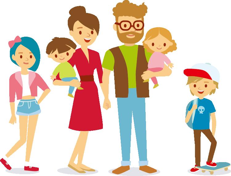 clipart royalty free stock Happy family clipart. Cartoon stock photography clip
