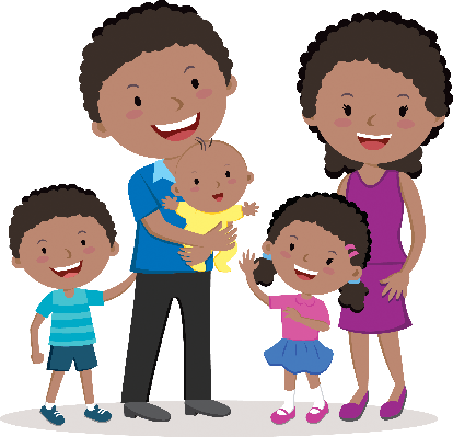 picture freeuse download Portraits the arts image. Happy family clipart