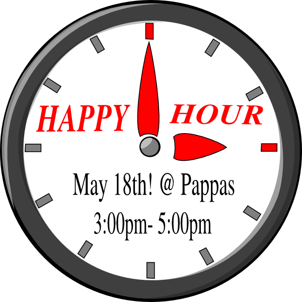 png royalty free download Funny . Happy hour clipart