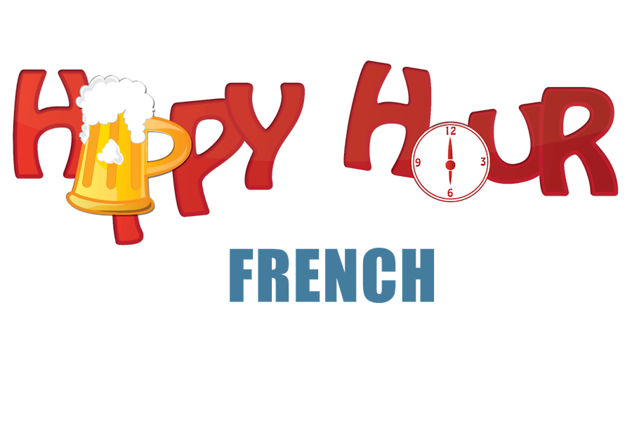 clipart library stock French . Happy hour clipart