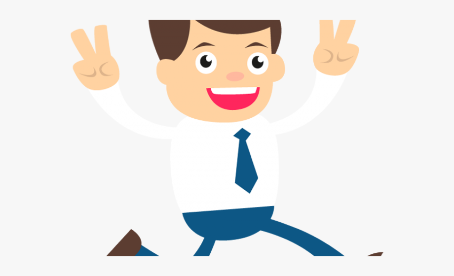 banner freeuse download Happy man clipart. Businessman business png