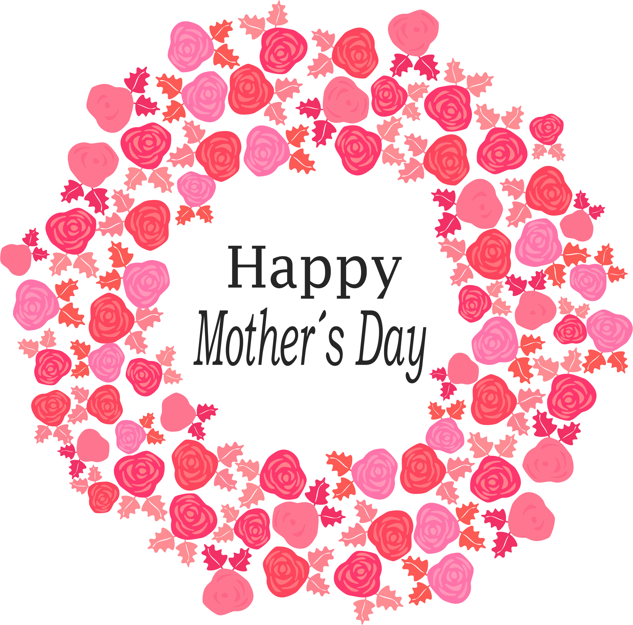 free stock Bouquet of flowers big. Happy mothers day clipart