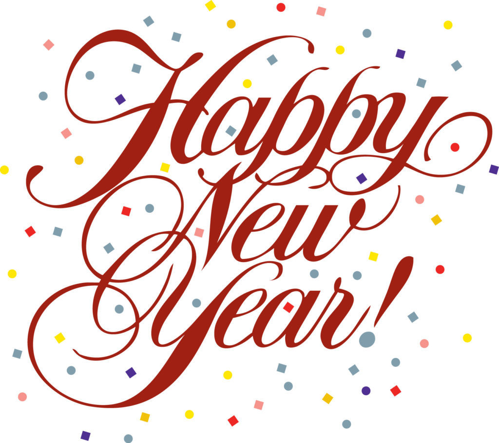 png black and white Year download clip . Free happy new years clipart