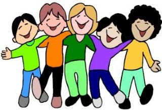 picture library download In classroom panda free. Happy students clipart.
