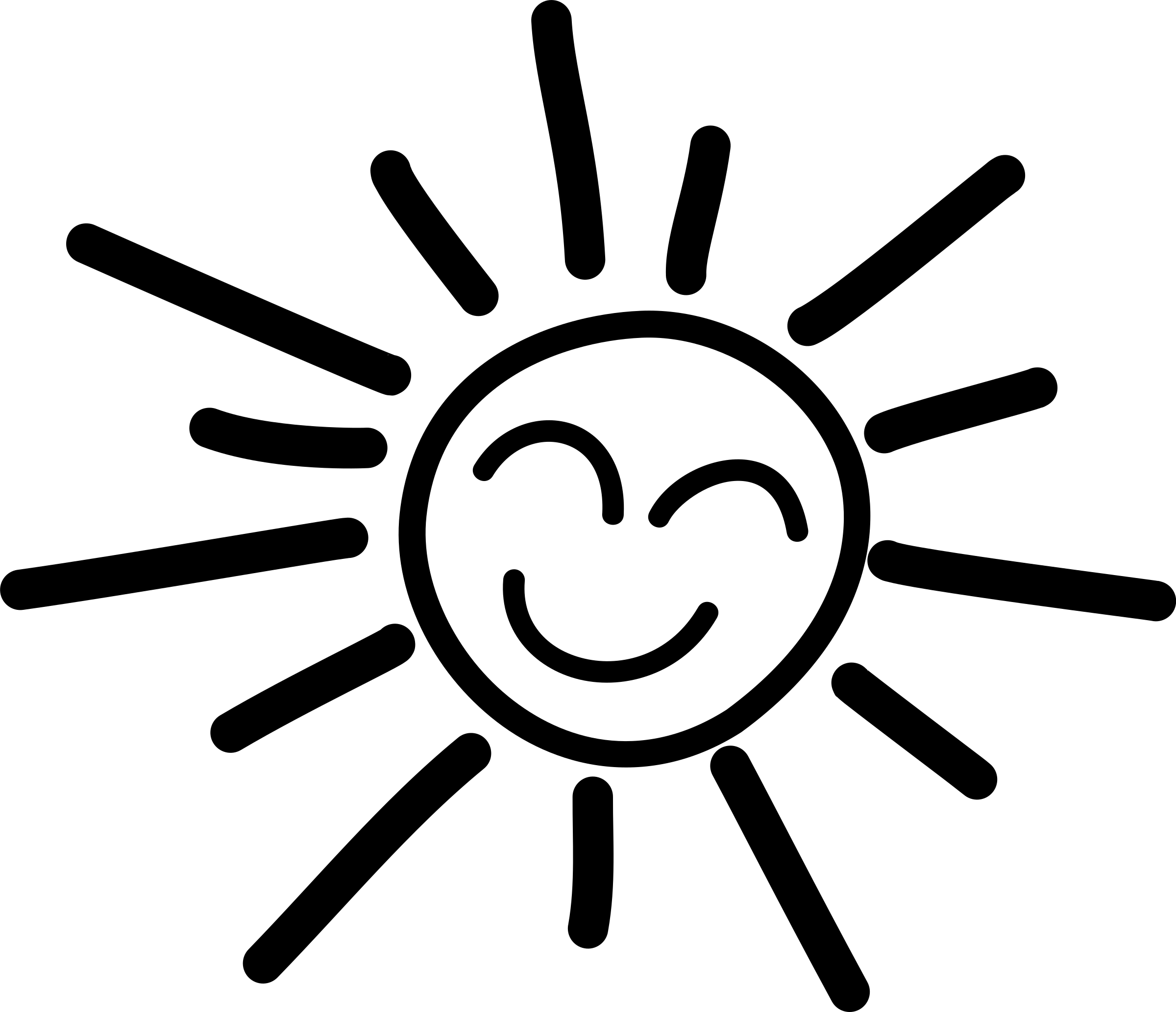 graphic library download Happy png no background. Half sun clipart black and white
