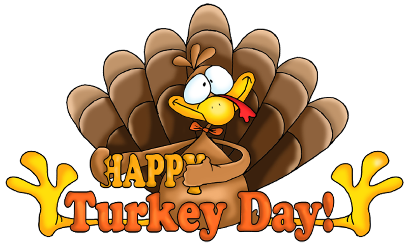 jpg library stock Transparent Happy Turkey Day Clipart