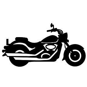banner royalty free library Harley of motorbikes choppers. Motorcycle clipart