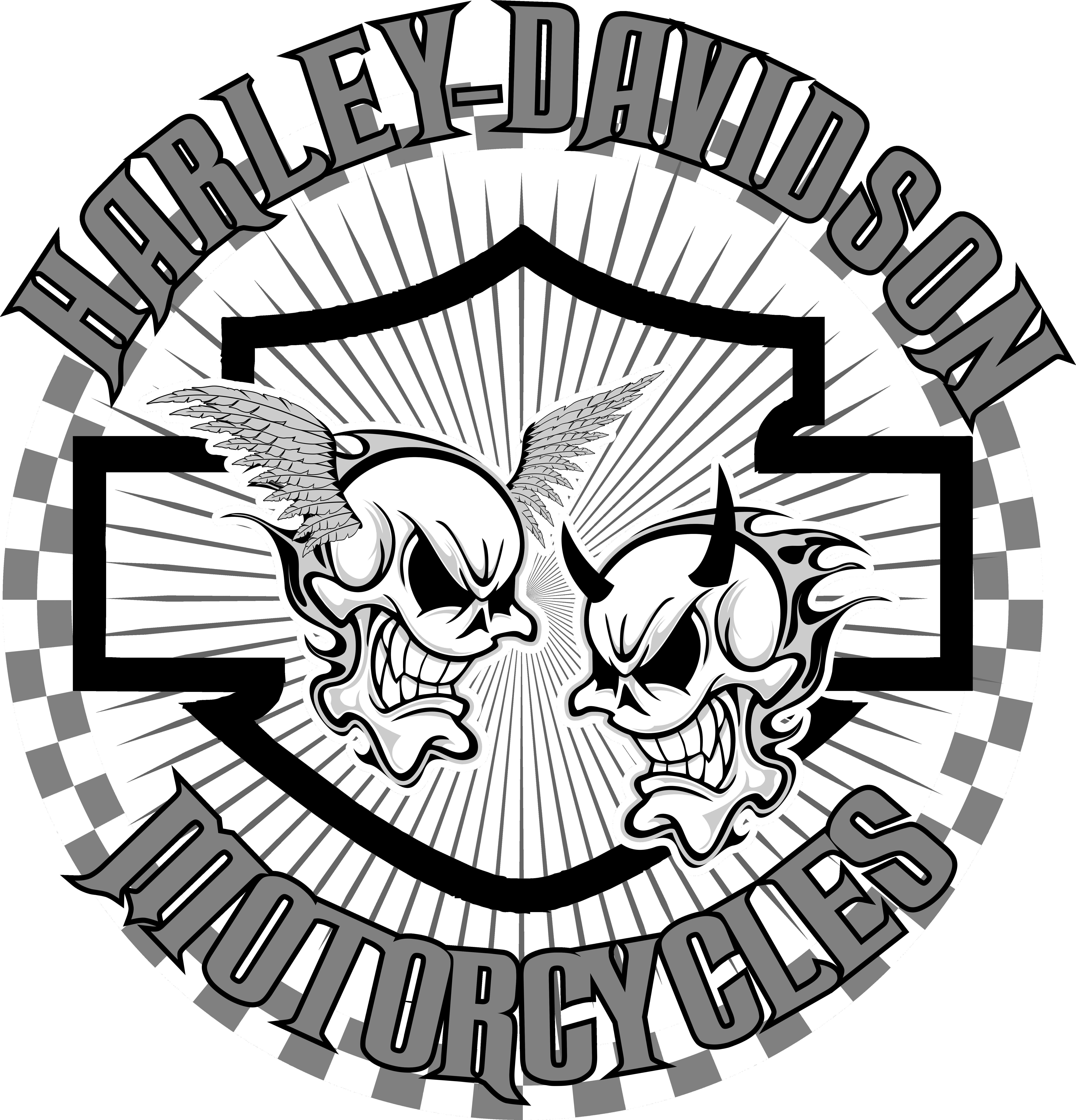 jpg freeuse stock Pin by kane cordova. Harley davidson clipart project.
