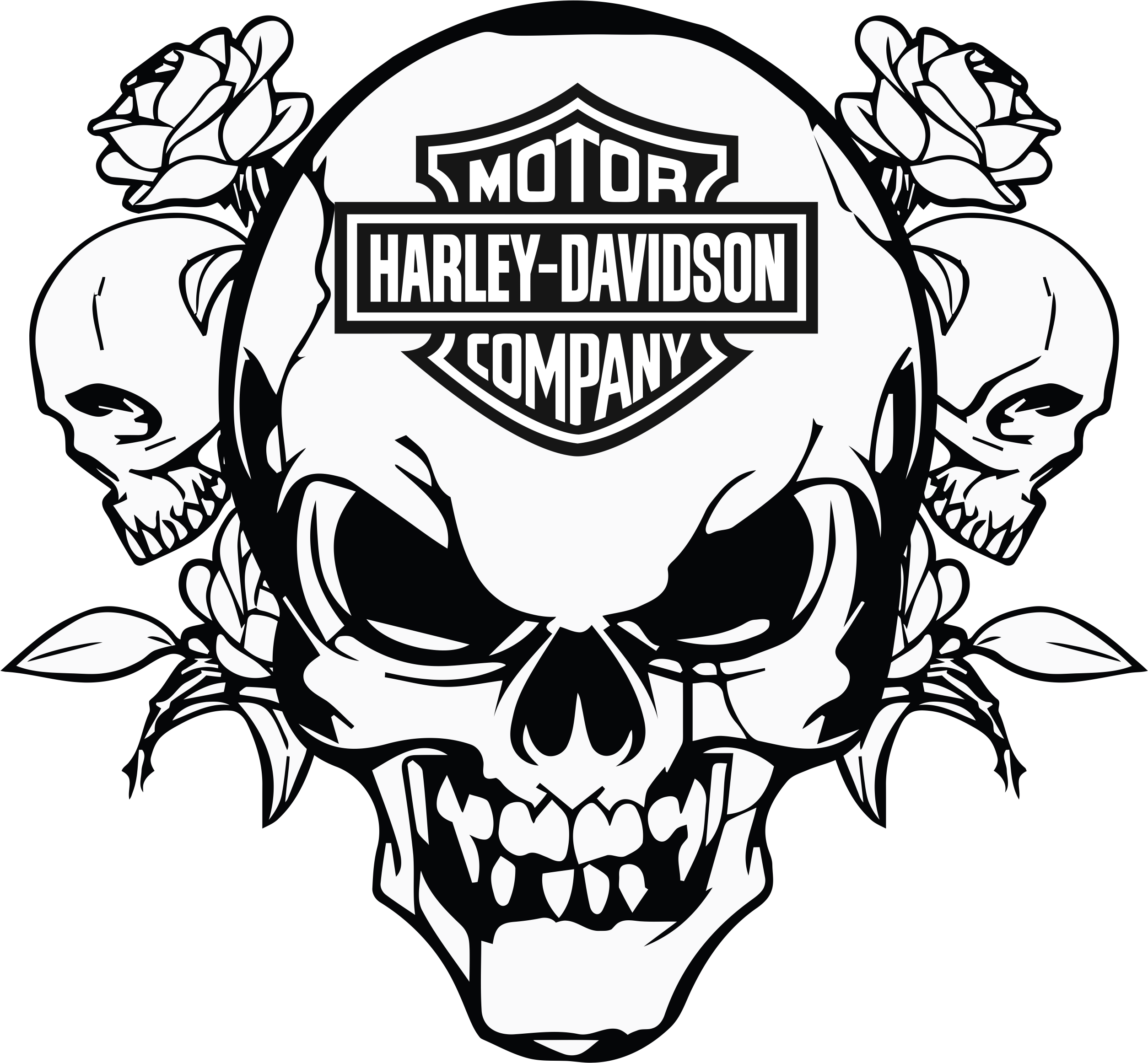 clip art black and white stock R sultat d images. Harley davidson clipart project.