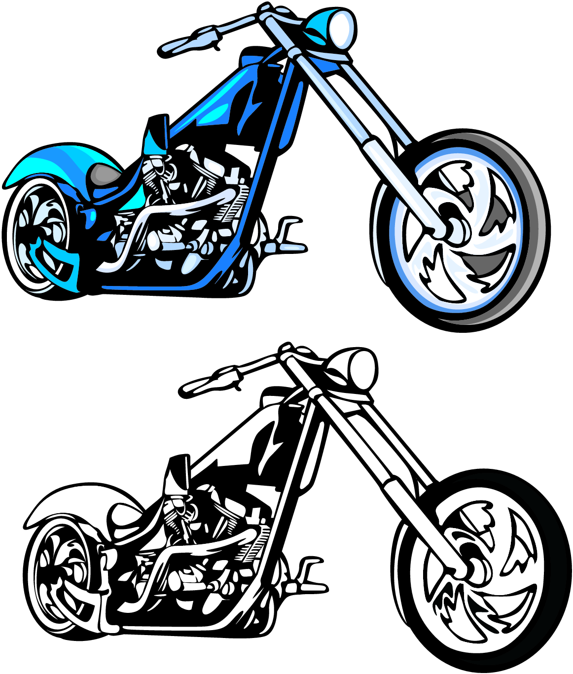 graphic Harley davidson clipart project. Clip art free projects.