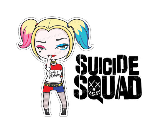 transparent library Harley quinn clipart. Look at clip art