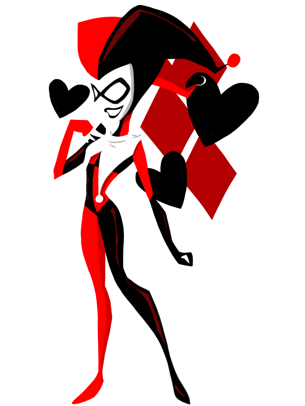 picture freeuse stock Tribal free on dumielauxepices. Harley quinn clipart