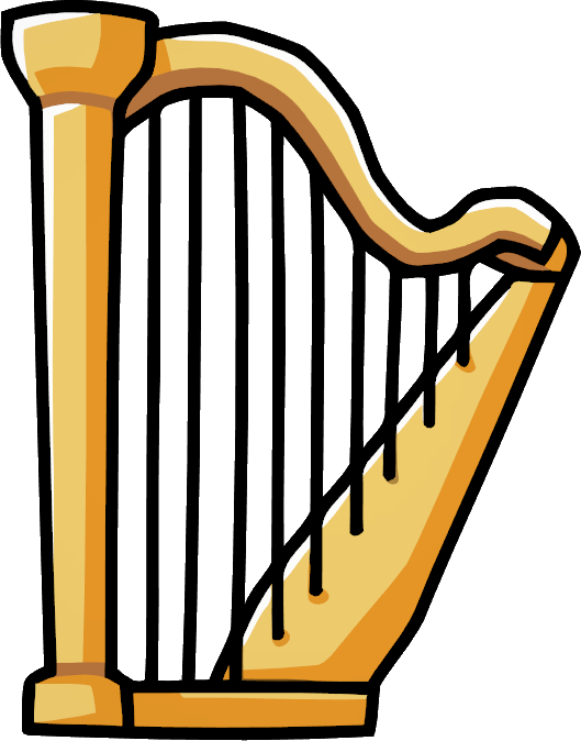 clip art library library Transparent free on dumielauxepices. Harp clipart.