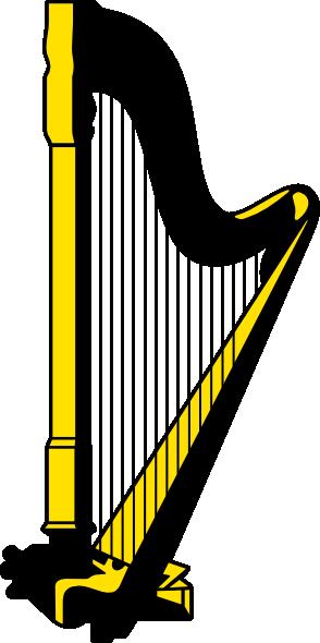 jpg free download Harp clipart. Clip art vector panda.