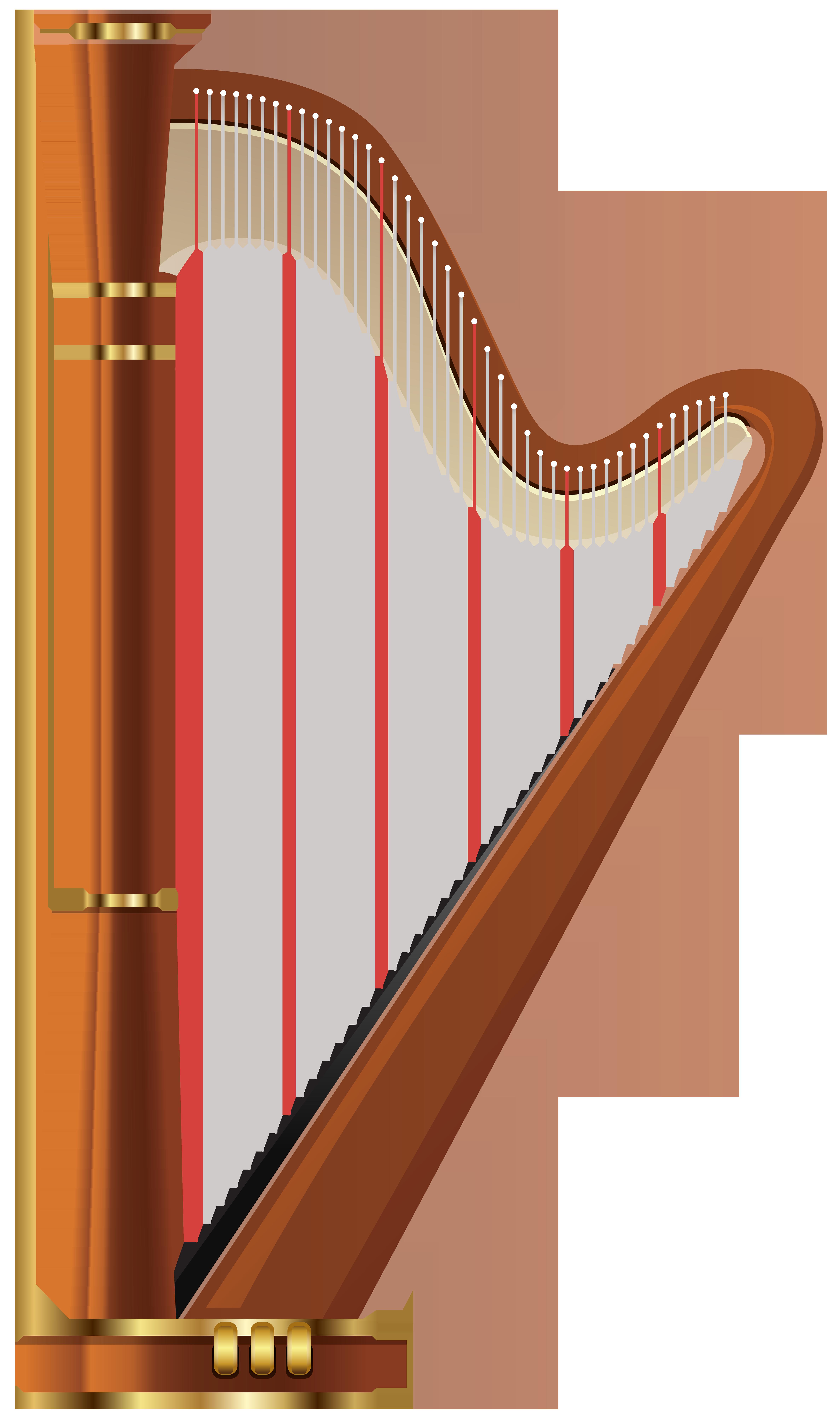 clipart royalty free Transparent png clip art. Harp clipart.