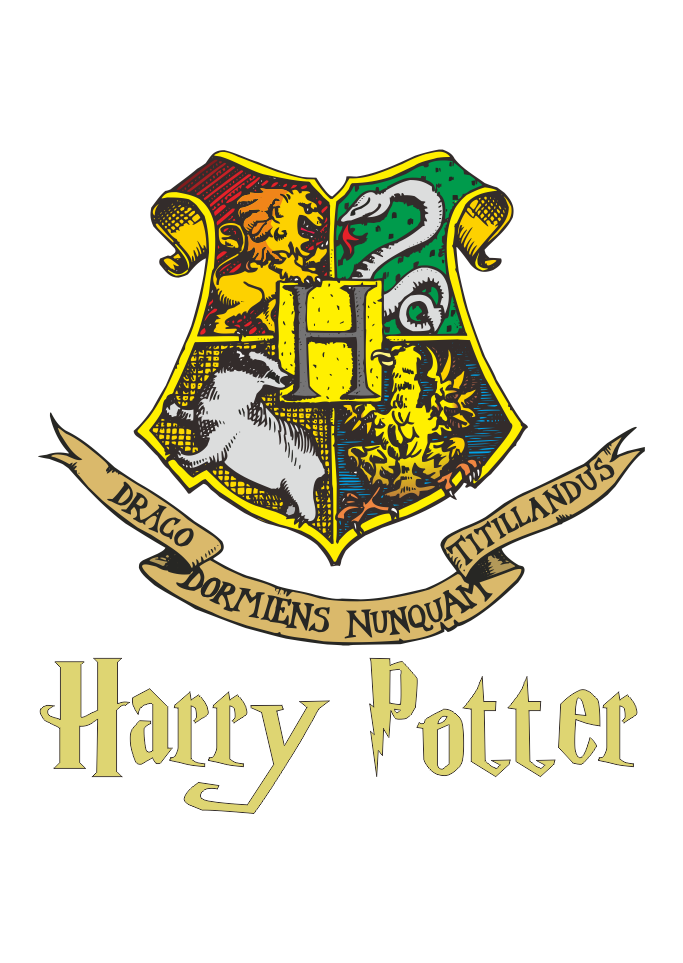 clip transparent Logo Hogwarts Harry Potter Vector
