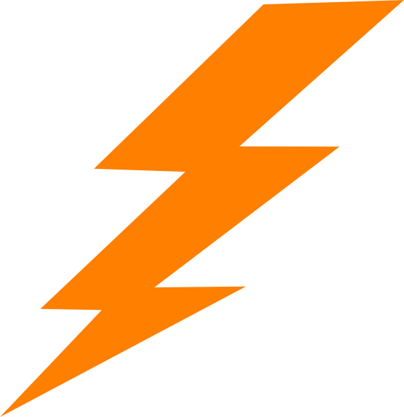 image free stock Harry Potter Lightning Bolt Outline