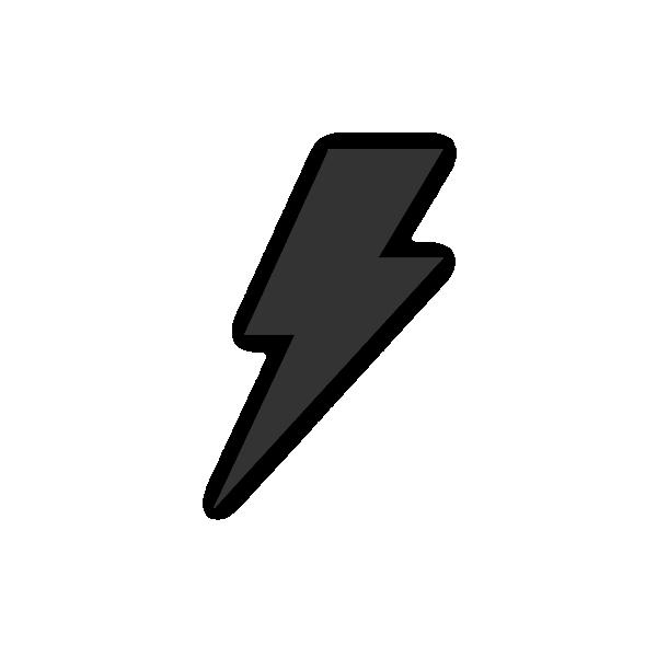 jpg transparent stock Bolt vector illustrator. Illustration of a lightning
