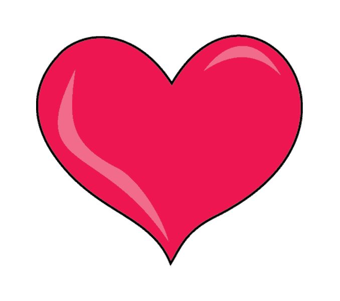 clip art library stock Hearts Step By Step Drawing at GetDrawings