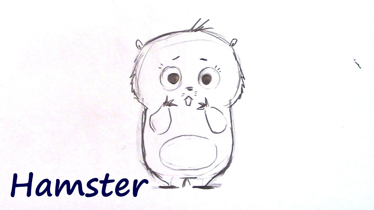 png royalty free download How to draw ahamster. Hart drawing cartoon