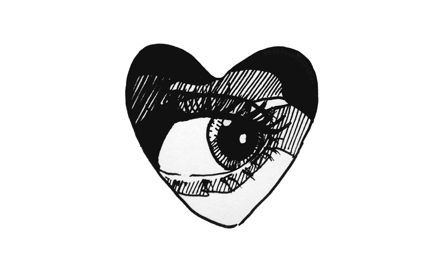 picture royalty free ftestickers eye heart love comics drawing cool tumblr