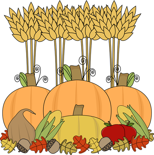 clip freeuse stock Cute Harvest Clipart