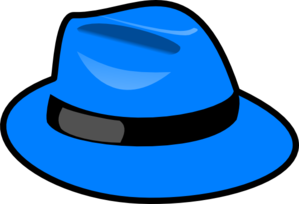 jpg free Hat clipart. Blue clip art at