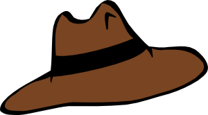jpg freeuse download Clip art at clker. Hat clipart.