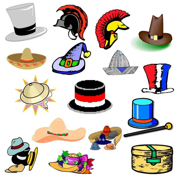 free library Hats clipart. Clip art party hat.