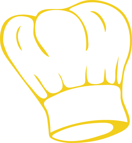 clipart black and white Chefs hat drawing at. Hats clipart baking