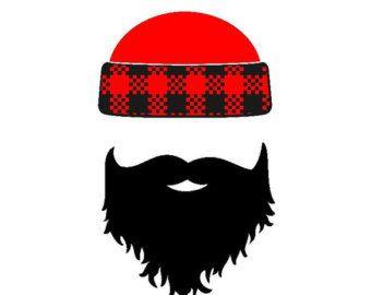 banner royalty free stock . Beard clipart lumberjack