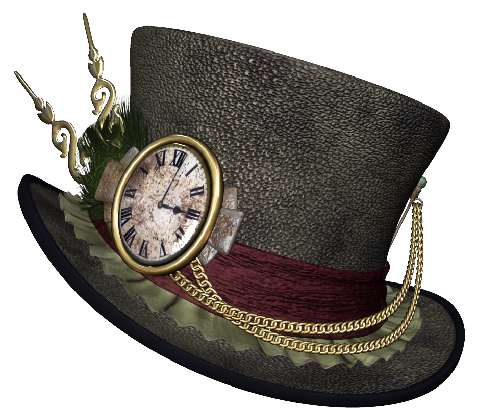 graphic library stock Hat png picture gallery. Hats clipart steampunk