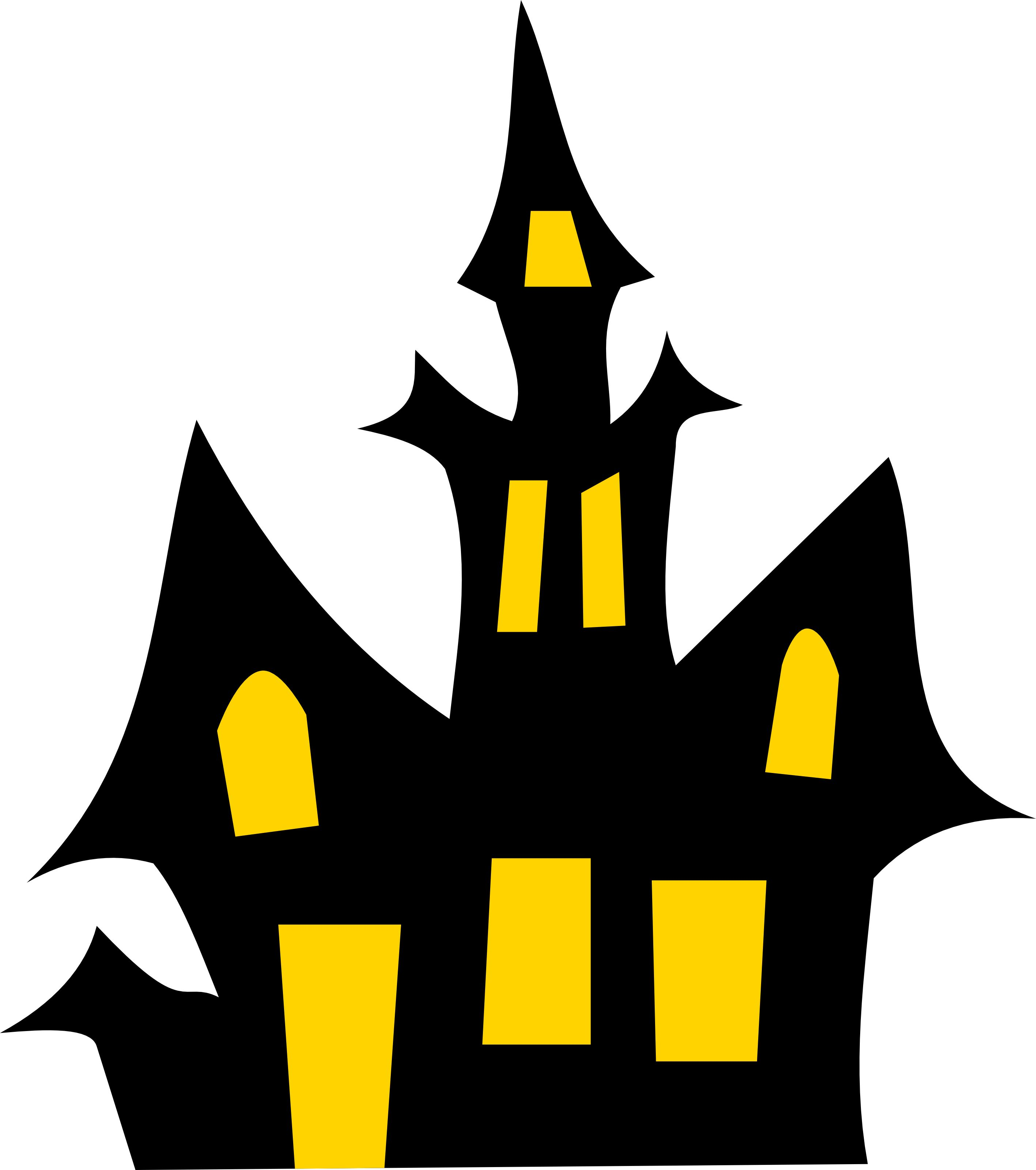 free stock Haunted clipart. Free house halloween vector