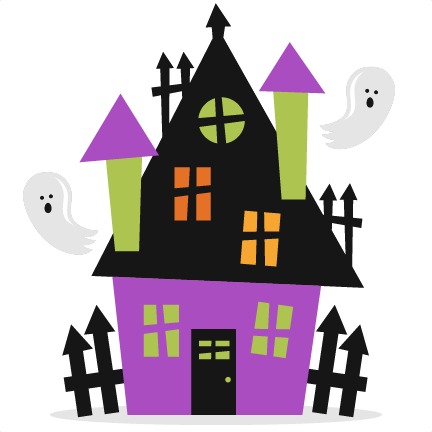 image stock House free download clip. Haunted clipart