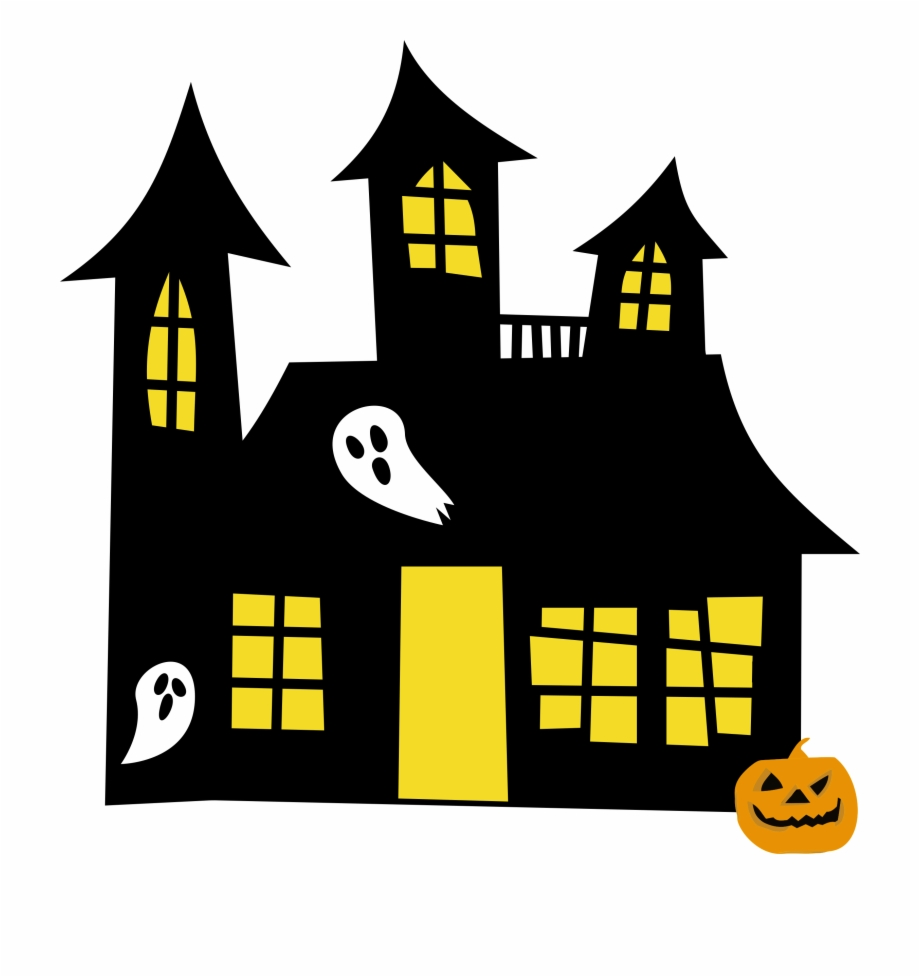 vector freeuse download Halloween png house . Haunted clipart