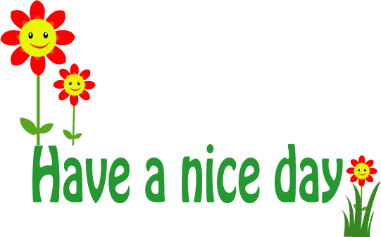 png royalty free stock Have A Nice Day PNG Transparent Have A Nice Day