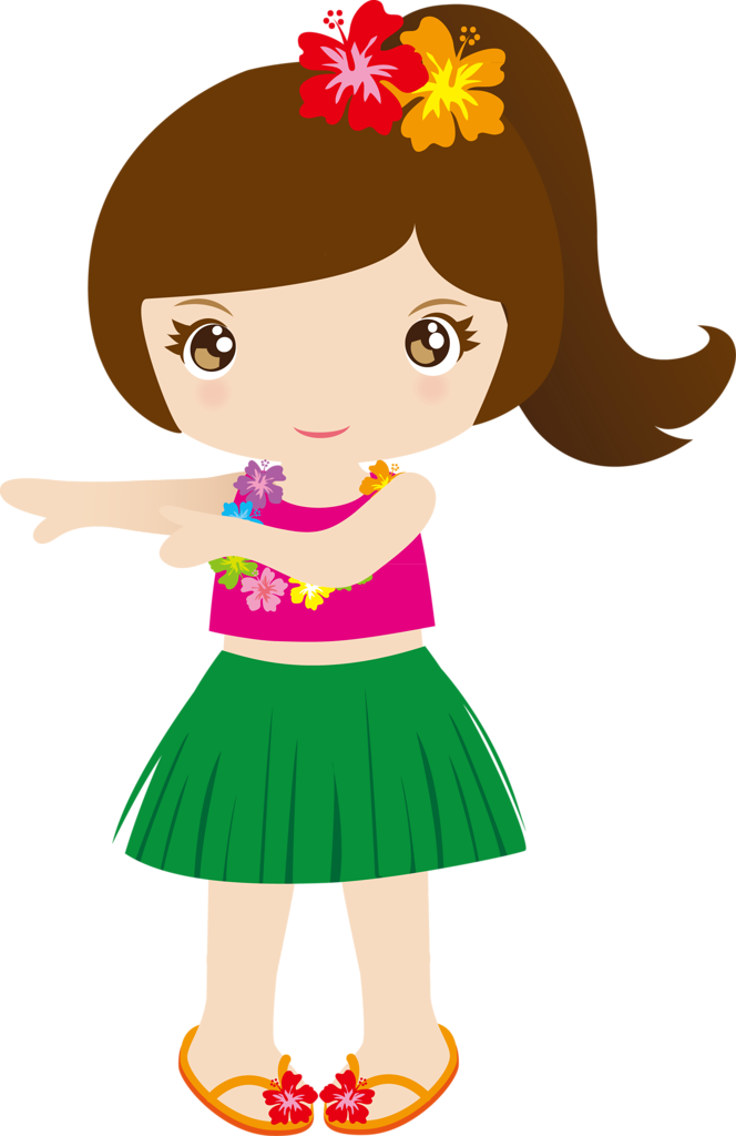 banner freeuse library Cg png pinterest clip. Luau clipart hawaiian child.