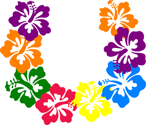 picture freeuse Hawaiian Flower Clip Art
