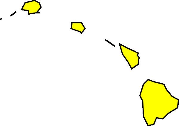 transparent stock Hawaii Map Clipart
