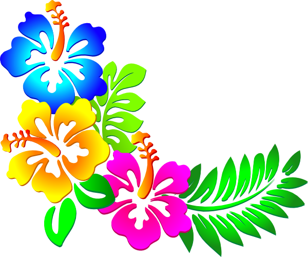 banner download Hawaiian clipart borders. Clip art panda free
