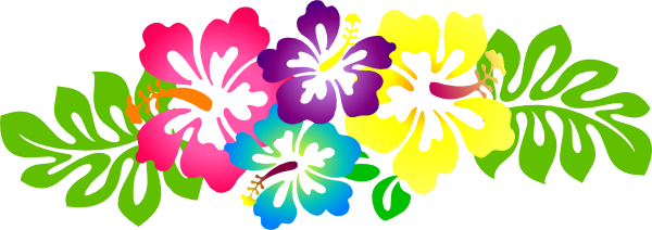 clipart black and white Hawaiian clipart borders. Free download best .