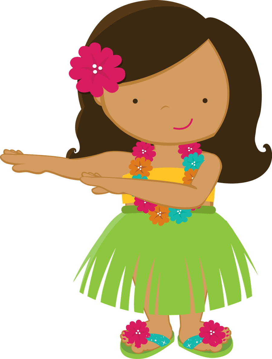 clipart library stock Aloha minus girl drawings. Lantern clipart hawaiian.