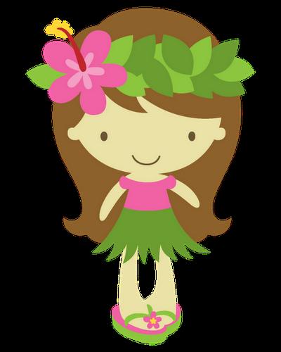 clip free Aloha tropical hawaii pinterest. Luau clipart hawaiian child.