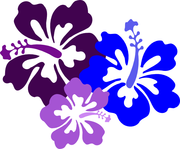 graphic transparent Hawaiian Flower Clip Art