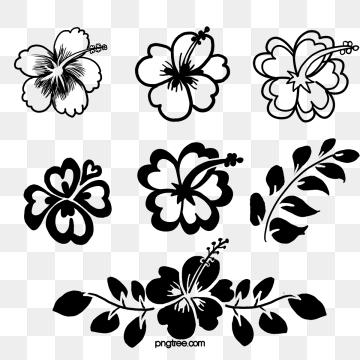 clip Hawaiian vector. Hibiscus free download flower.