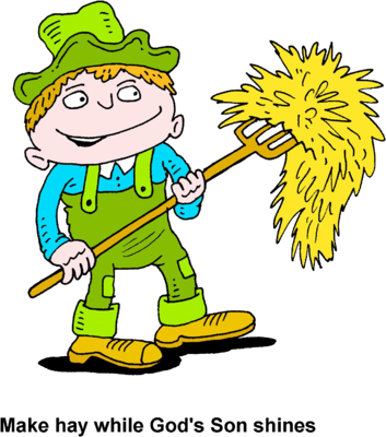 clip download Image farmer pitching make. Hay clipart